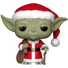holiday yoda / star wars / figurine funko pop