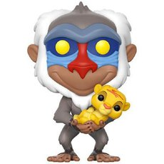 rafiki avec simba / le roi lion / figurine funko pop