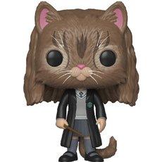 hermione en chat / harry potter / figurine funko pop