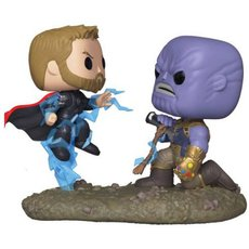 thor vs thanos / avengers infinity war / movie moments / figurine funko pop