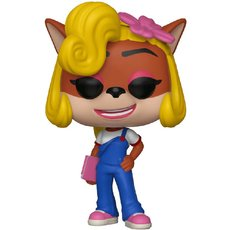 coco bandicoot / crash bandicoot / figurine funko pop
