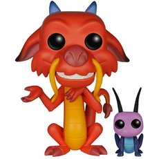 mushu et cricket / mulan / figurine funko pop