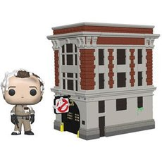 dr peter venkman et house / ghostbusters / figurine funko pop