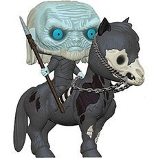 white walker sur cheval / game of thrones / figurine funko pop