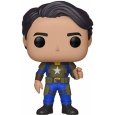 vault dweller male avec mentats / fallout / figurine funko pop / exclusive special edition