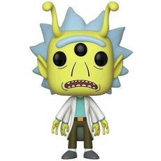 alien rick / rick et morty / figurine funko pop / exclusive eccc 2018