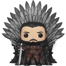 jon snow sur le trone de fer / game of thrones / figurine funko pop