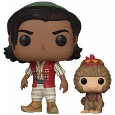 aladdin avec abu / aladdin / figurine funko pop