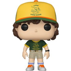 dustin at camp / stranger things / figurine funko pop