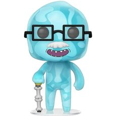 dr xenon bloom / rick et morty / figurine funko pop / gitd