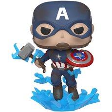 captain america avec bouclier casse / avengers endgame / figurine funko pop