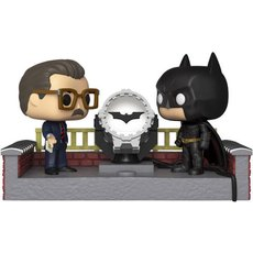 batman with light up bat signal / batman / movies moments / figurine funko pop