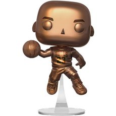 michael jordan bronze / chicago bulls / figurine funko pop / exclusive special edition