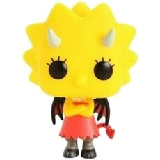 demon lisa / les simpsons / figurine funko pop
