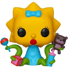 alien maggie / les simpsons / figurine funko pop