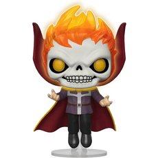 doctor strange as ghost rider / marvel / figurine funko pop