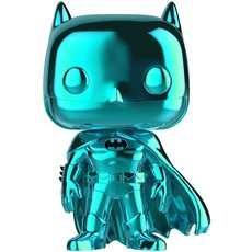 batman chrome cian / batman / figurine funko pop / exclusive sdcc 2019