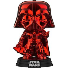 dark vador chrome rouge / star wars / figurine funko pop / exclusive special edition