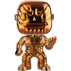 thanos chrome orange / avengers infinity war / figurine funko pop