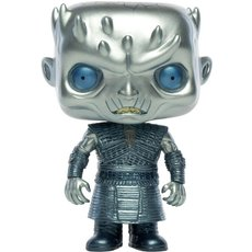 night king metallic / game of thrones / figurine funko pop / exclusive special edition