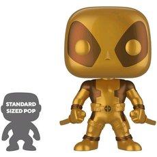 deadpool super oversized gold / deadpool / figurine funko pop / exclusive special edition