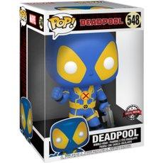 deadpool super oversized bleu / deadpool / figurine funko pop / exclusive special edition