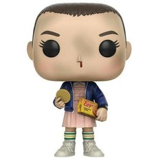 eleven with eggos / stranger things / figurine funko pop