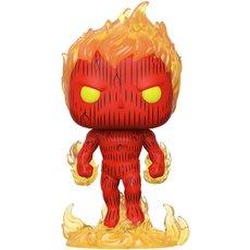 human torch / les 4 fantastiques / figurine funko pop