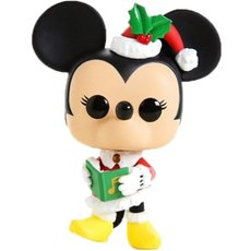 holiday minnie mouse / mickey mouse / figurine funko pop