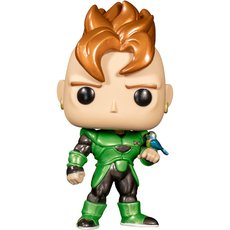 android 16 metallic / dragon ball z / figurine funko pop / exclusive special edition