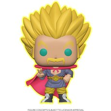 super saiyan hercule / dragon ball super / figurine funko pop / exclusive speciality series / gitd