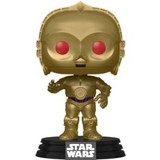 c-3po metallic / star wars / figurine funko pop