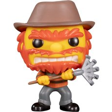 evil groundskeeper willie / les simpsons / figurine funko pop / exclusive nycc 2019