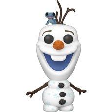 olaf avec bruni / la reine des neiges 2 / figurine funko pop