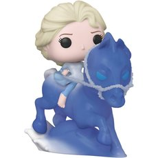 elsa riding nokk / la reine des neiges 2 / figurine funko pop