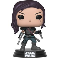 cara dune / star wars the mandalorian / figurine funko pop