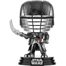 knight of ren blaster scythe chrome / star wars / figurine funko pop
