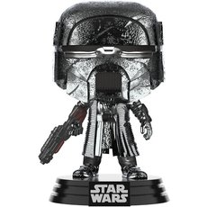 knight of ren blaster rifle chrome / star wars / figurine funko pop