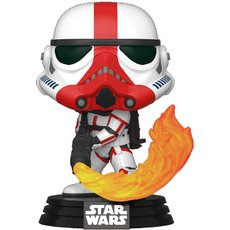 incinerator stormtrooper / star wars the mandalorian / figurine funko pop