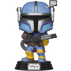 heavy infantry mandalorian / star wars the mandalorian / figurine funko pop