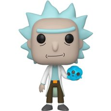 rick avec crystal / rick et morty / figurine funko pop