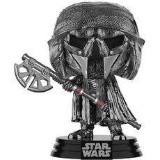 knight of ren long axe chrome / star wars / figurine funko pop