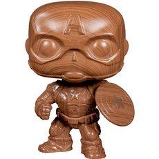 captain america wood deco / marvel / figurine funko pop / exclusive special edition