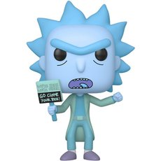 hologram rick clone / rick et morty / figurine funko pop
