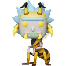 wasp rick / rick et morty / figurine funko pop