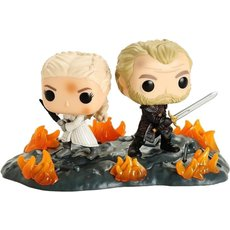 daenerys et jorah / game of thrones / figurine funko pop
