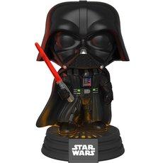 dark vador avec son et lumiere / star wars / figurine funko pop