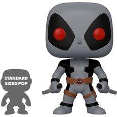 deadpool super oversized gris / deadpool / figurine funko pop / exclusive special edition