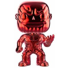 thanos chrome rouge / avengers infinity war / figurine funko pop / exclusive special edition