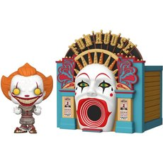 demonic pennywise and funhouse / it / figurine funko pop